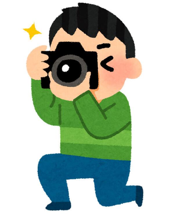 写真を撮る