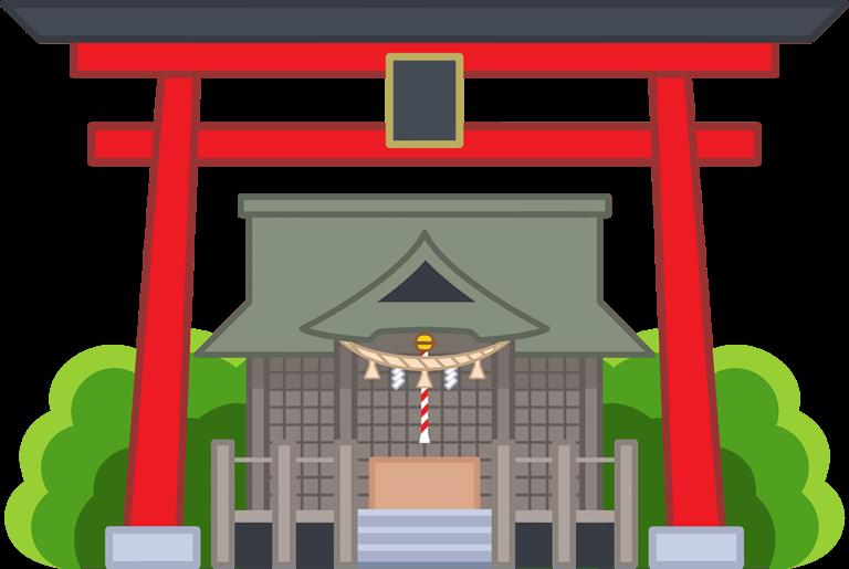 ネットビジネスで生活する道 神社