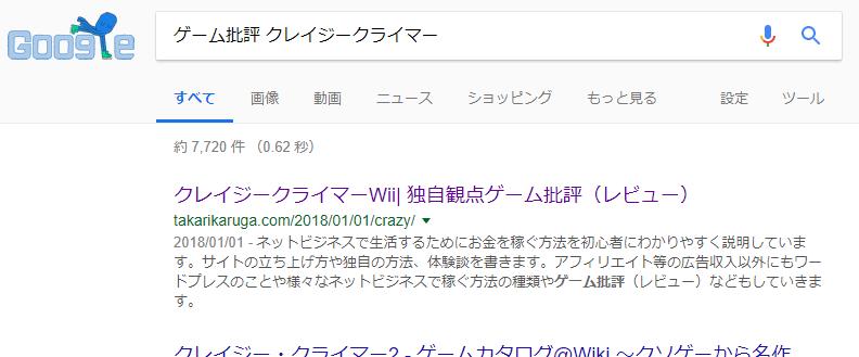 検索結果上位表示
