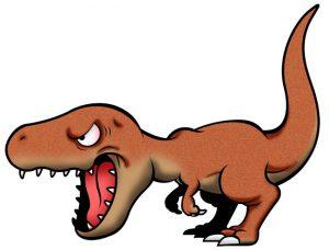 恐竜の尻尾