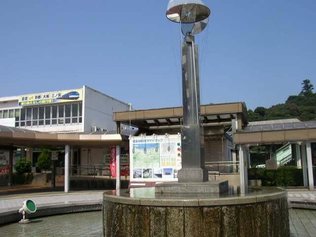 鳥取県倉吉駅