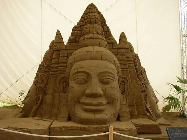 鳥取県鳥取砂丘砂の美術館