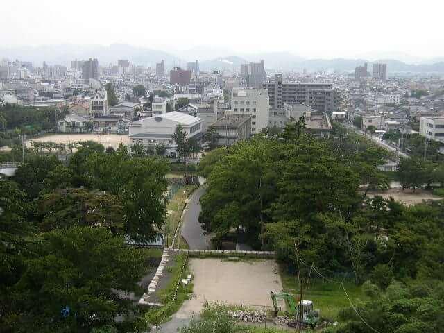 鳥取県鳥取城跡久松公園