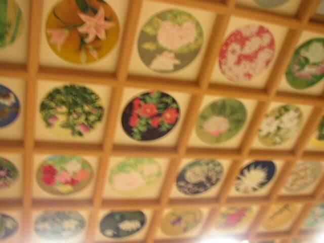 奈良県橘寺聖倉殿天井絵画