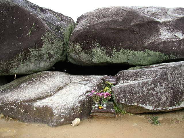 奈良県石舞台古墳