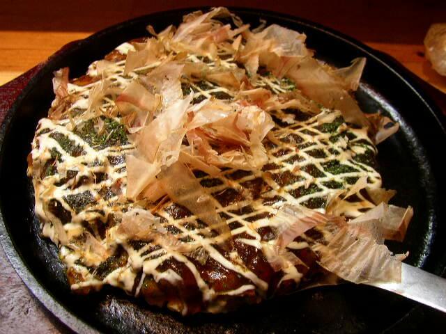 奈良末広焼お好み焼き