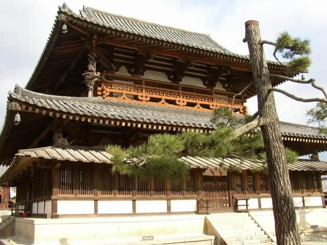 奈良県法隆寺金堂