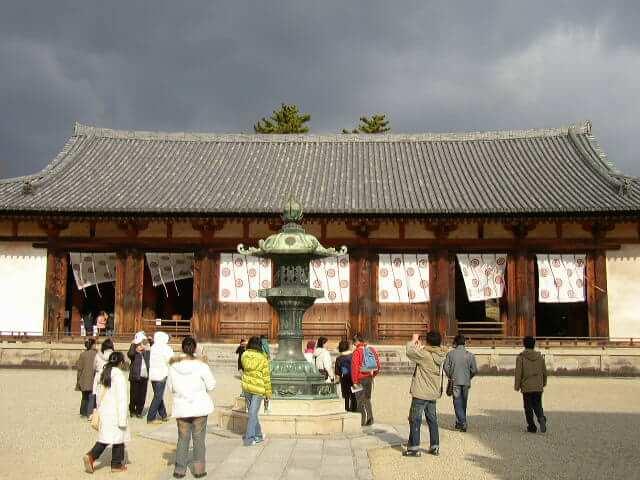 奈良県法隆寺大講堂