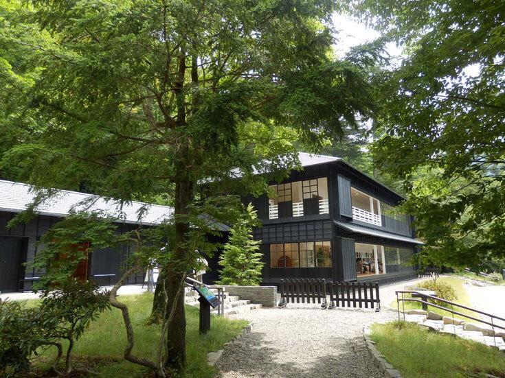 栃木県日光市英国大使館別荘記念公園