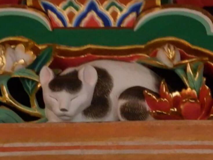 栃木県日光旅行日光東照宮眠り猫