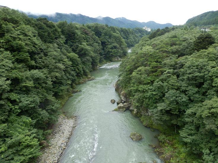 栃木県日光旅行鬼怒楯岩大吊橋