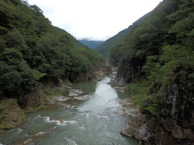 栃木県日光旅行鬼怒川龍王峡