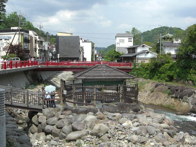 静岡県伊豆下田旅行修善寺足湯