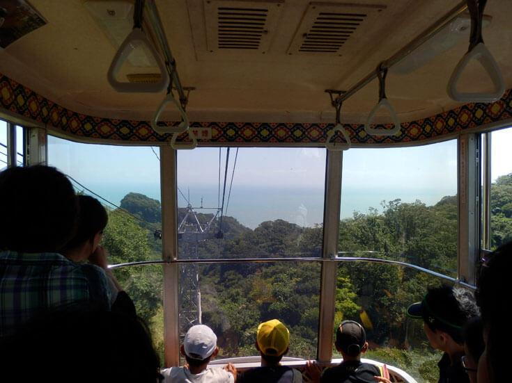 静岡県静岡市の旅行日本平ロープウェイ