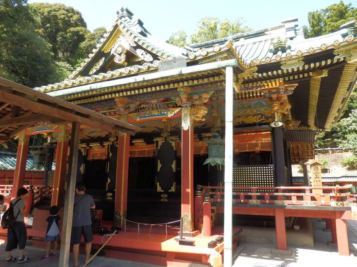 静岡県静岡市の旅行久能山東照宮御社殿