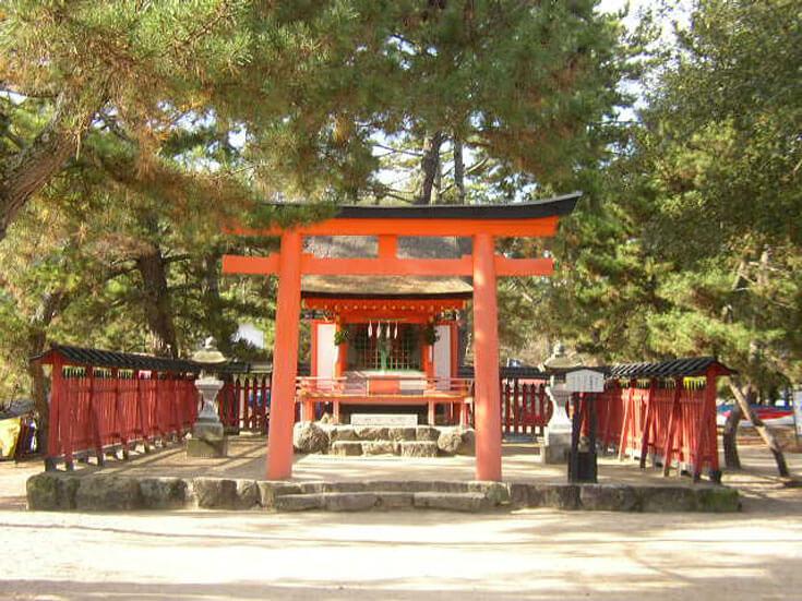 広島県旅行観光宮島厳島神社清盛神社
