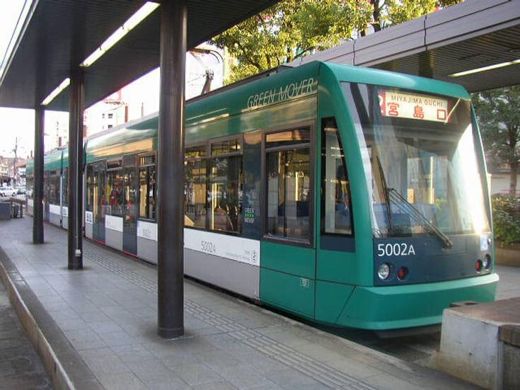広島県旅行観光路面電車